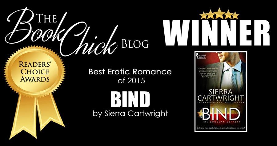 Book Chick Winner 2015